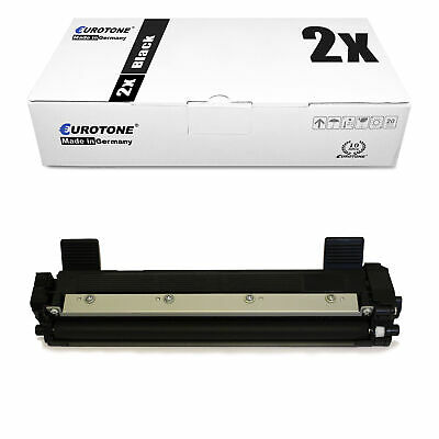 2x Eurotone Eco Toner Compatibile con Brother TN-1050 TN1050