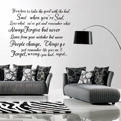 Furniture Stickers Live Laugh Love Wall Sticker Home Decor Art Saying Words Phrases Decals Ct U2i2 Home Furniture Diy Quatrok Com Br