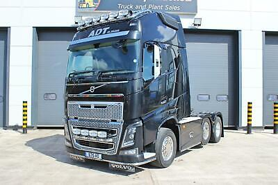 Volvo (2015) FH16 750 (Euro 6) 6X2 T/Unit. Twin Sleeper Globetrotter XL Cab.