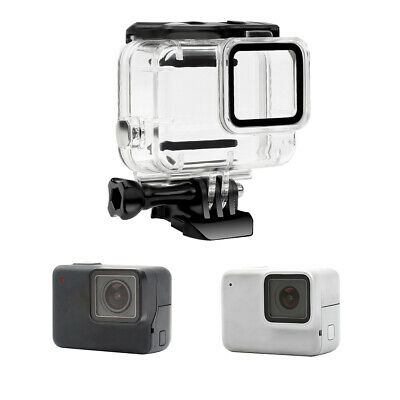 For GoPro Hero7 White/Silver Waterproof Case Diving Protective Housing Shell 30M