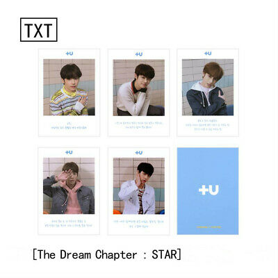 TXT The Dream Chapter: Star Autograph Photo Soobin Yeonjun Paper Photo Cards