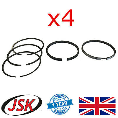 20pc Piston Ring Set for Perkins 4.99 Engine 76.20mm 1.98-1.59-1.59-4.76-4.76mm