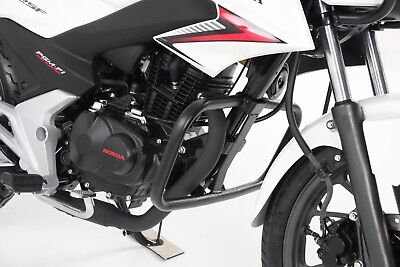 Honda CB 125 F (From 2015) Engine Protection Bar - Black BY HEPCO AND BECKER