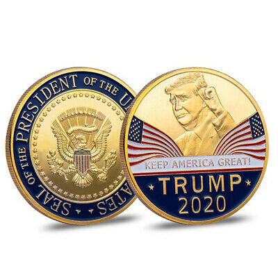 2020 Keep America Great Commemorative Challenge Coin Donald Trump Eagle Coins