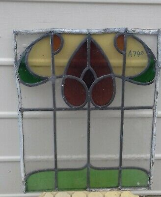 A740   Ca 1890s       Stained glass
