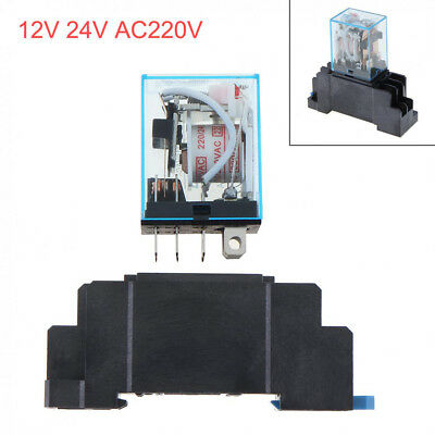 20pc LY2 Power Relay 951-2C-12DP DPDT 10A250V Coil= 12VDC Hsin Da OMRON LY2N
