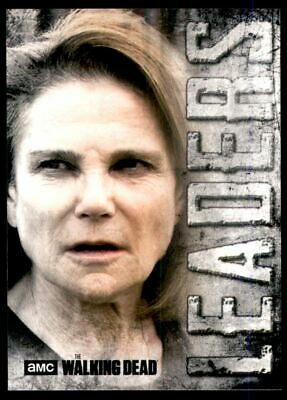 2018 The Walking Dead Hunters and the Hunted Leaders #L3 Deanna Monroe