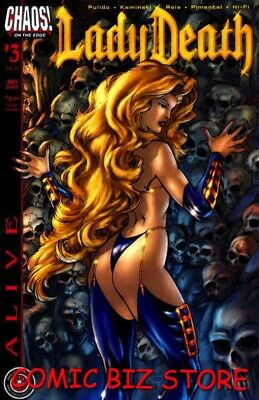 Lady Death Alive #3 (2001) 1St Printing Bagged & Boarded Chaos Comics