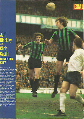Football Autograph Chris Cattlin Coventry City Signed Magazine Photograph F1183