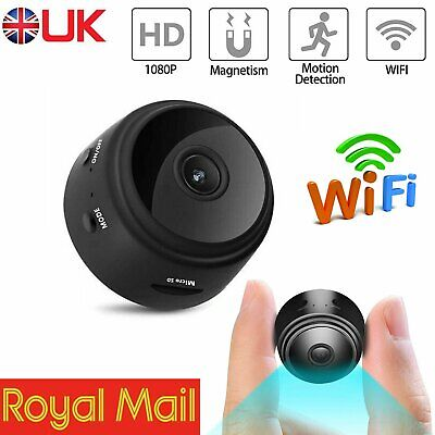 Mini Spy IP Camera Wireless WiFi HD 1080P Hidden Network Monitor Security Cam IR