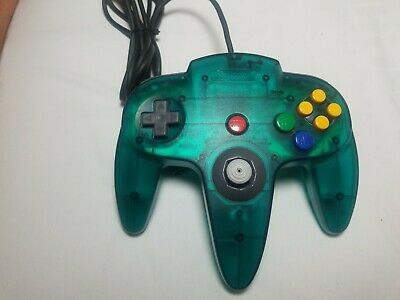 Nintendo 64 N64 Controller Jungle Green OEM Tight Stick Authentic! Excellent!