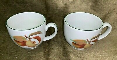 2 x Unused Royal Worcester Fine Porcelain Evesham Vale Cups - More Available