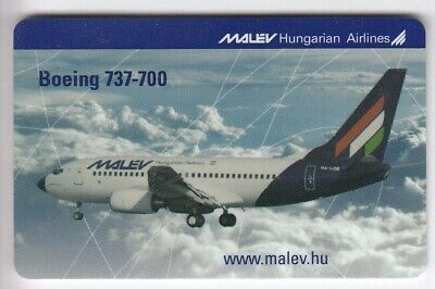 Europe  Telecarte / Phonecard .. Hongrie 400Ft Matav Avion Boeing 737 2005 +N°