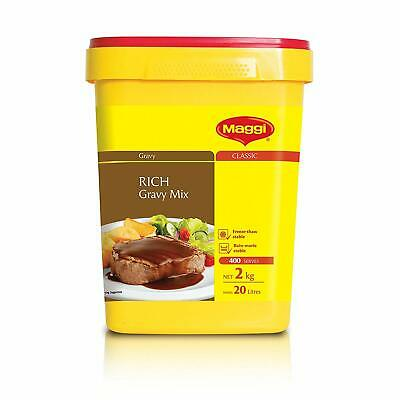 MAGGI Classic Rich Gravy Mix 2kg - Free Delivery - New - Sealed - Full Flavour