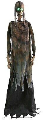 6 FT ANIMATED TWITCHING CORPSE Halloween Prop HAUNTED HOUSE