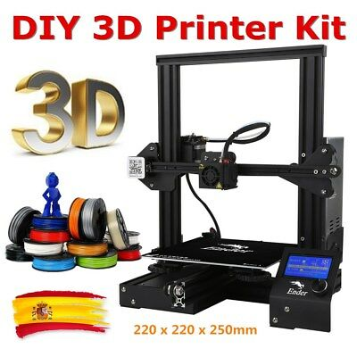 Creality3D Ender-3 Impresora 3D Prusa I3 DIY 3D Printer Kit MK-10 220x220x250mm