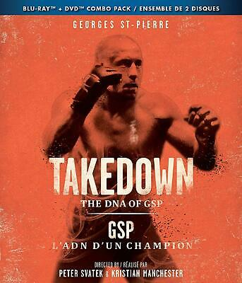 Takedown The DNA of GSP UFC Blu-Ray Sealed