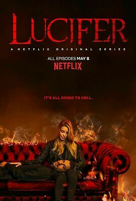 Lucifer Season 4 DVD Brand New Sealed 24 Hours Postage