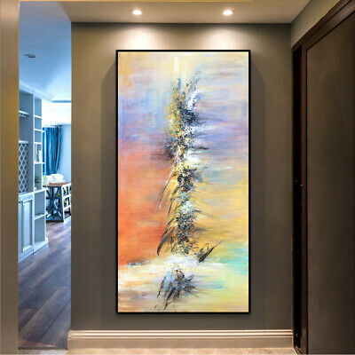 VV376 Large Modern hand-painted abstract oil painting on canvas Home Decoration