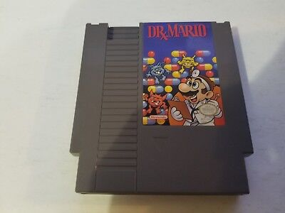 Dr. Mario (Nintendo Entertainment System, 1990) NES Game Tested & Free Shipping