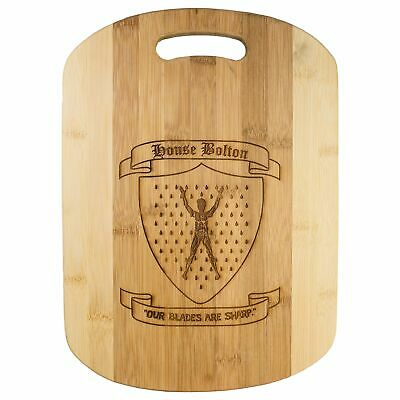 Our Blades Are Sharp Cutting Board 14''x9.5''x.5'' Bamboo
