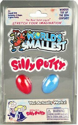 Worlds Smallest Silly Putty Egg Collectible
