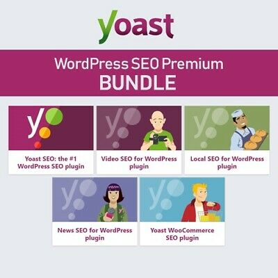 Yoast SEO ⭐ Plugin 5 in 1 ⭐ All Extensions ⭐ ULTIMATE VERSION WORDPRESS