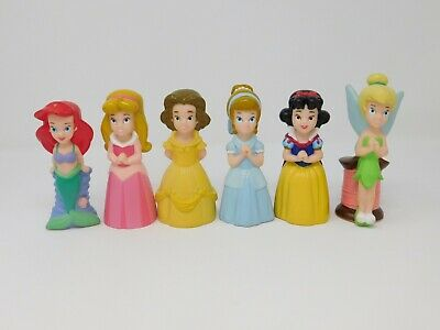 Disney Theme Park Princess Bath Tub Pool Toy 6 Piece Set Lot