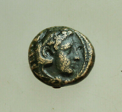 "Kings of Macedon Alexander III ""the Great"" 336-323 BC, AE15mm 5,6g Heracles Bow"