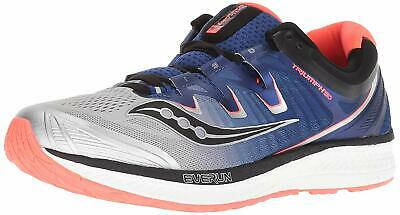 Saucony Men's Triumph Iso 4 SilverBlue Vizi Red Ankle High