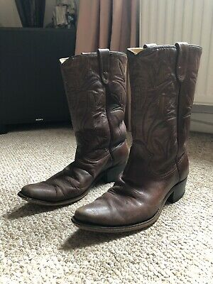 Vintage Genuine Rodeo Cowboy Boots Bought In America