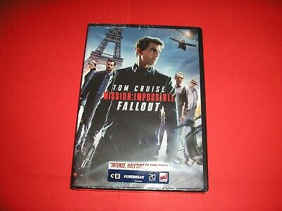 "DVD neuf emballé,""MISSION IMPOSSIBLE FALLOUT"",tom cruise,cavill,rhames,(1066)"