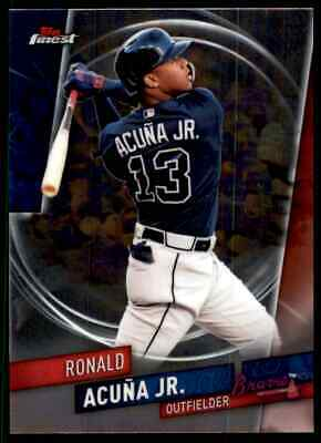 2019 Topps Finest Baseball Singles w/ RC's (1-100) - You Choose