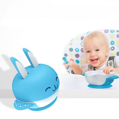 Baby Suction Spill-Proof Bowl  Food Tray Placemat Tableware Container DishUseful