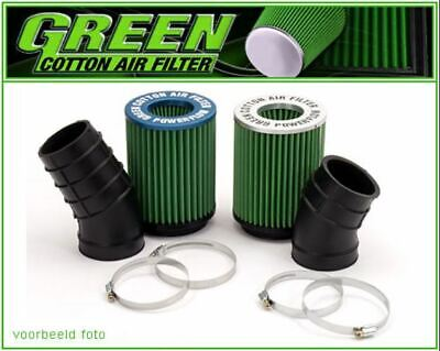 Hochleistungs-Luftansaugsystem Powerflow Green Fiat Seicento Abarth 1,1L I 52...