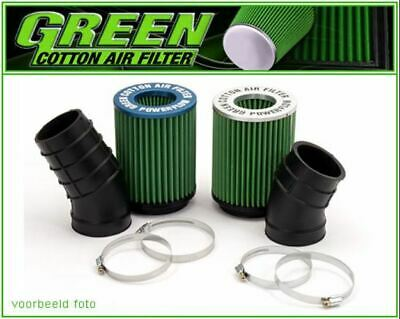 Hochleistungs-Luftansaugsystem Powerflow Green Honda Civic Coupe 1,6L Es I 16...