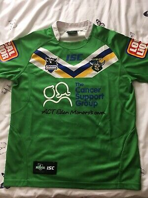 d64084c9884 canberra raiders Rugby League Shirt Hulk Size 14 Kids Excellent Condition.