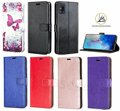 For Samsung A20e A70 A10 A40 A50 S10 R Leather Flip Case Book Wallet Phone Cover