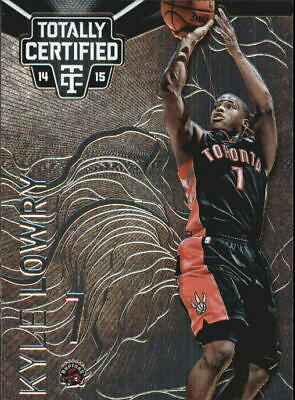 2014-15 Totally Certified Toronto Raptors Basketball Card #3 Kyle Lowry