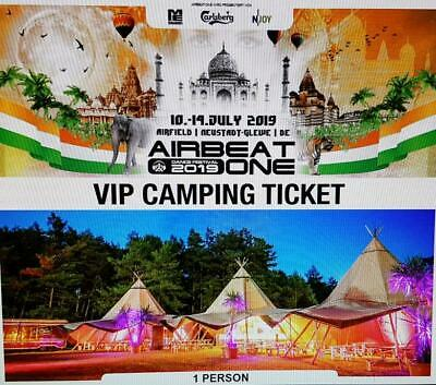 Airbeat One 2019 VIP Camping Ticket