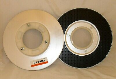 "Pair of 13"" Tennant Nobles 611483 Pad Drivers for 26"" Floor Scrubbers 260 260XP"