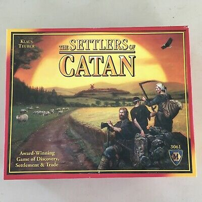 The Settlers of Catan Board Game 3061 Klaus Teuber 2012