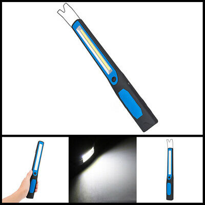 Torch Light Inspection Magnetic Flexible Flashlight Tool Rechargeable Work USB