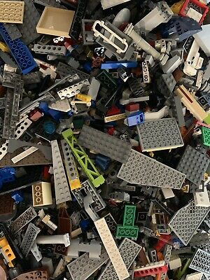 2 POUNDS OF LEGOS Bulk lot Bricks parts pieces - 100% Lego