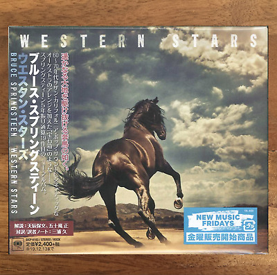 Japan Digi-Sleeve Cd With Obi Sent From Berlin! Bruce Springsteen Western Stars