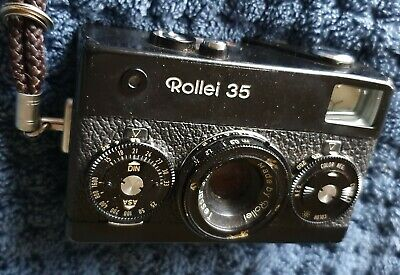 ROLLEI 35 BLACK, 35mm point&shoot camera, Tessar 40mm f3.5 lens