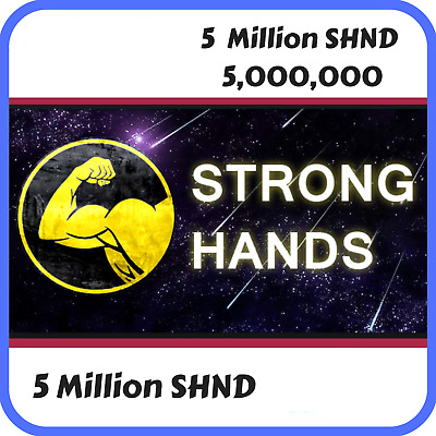 5 Million Strong Hands (SHND) CRYPTO MINING-CONTRACT (SHND) - Crypto Currency