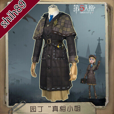 IDENTITY V HUNTER The Soul of Umbrella Black White Guards Cosplay