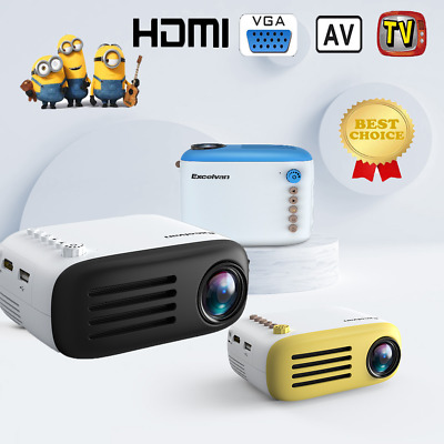 YG300/ YG200 Portable Mini LED 1080P HD Projector Home Cinema Theater AV HDMI RG