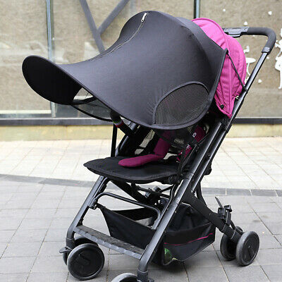 Sun Visor Carriage Shade Canopy Cover for Baby Kid Pram Stroller Pushchair R6M0T